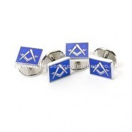 Masonic Blue Dress Shirt Studs | Masonic Gifts | Scoop.it