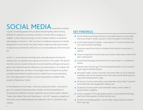 Nielsen: Social Media Report | Social Media Engine | Scoop.it