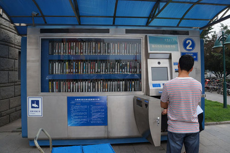 ATM libraries promote reading habits | The Information Professional | Scoop.it