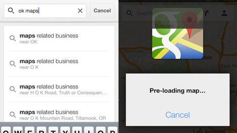 How to save Google Maps (iOS) for offline use | Social Brain, Social Mind | Scoop.it