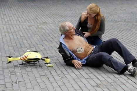 Un prototype de «drone ambulance» présenté aux Pays-Bas | Produits électroniques | Veille informationnelle CNDF | Scoop.it
