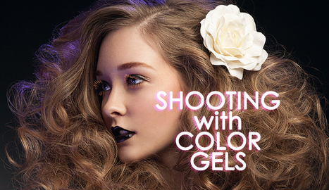 Shooting With Color Gels | Photography | Scoop.it