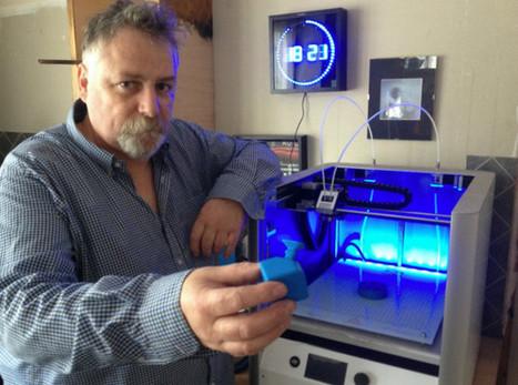 Grumesnil Olivierréinvente la magie avec son imprimante 3D | Geeks | Scoop.it