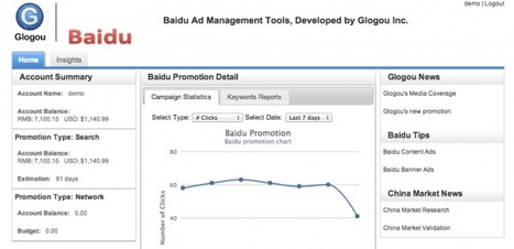 Glogou Launches Products To Help US Companies Do Search Marketing In China   Sniffer   Scoop.it