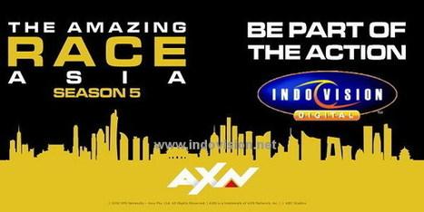 Jadilah Peserta The Amazing Race Asia Season 5, Yuk Ikuti Aksi Serunya! | Indovision Satellite Television | Scoop.it