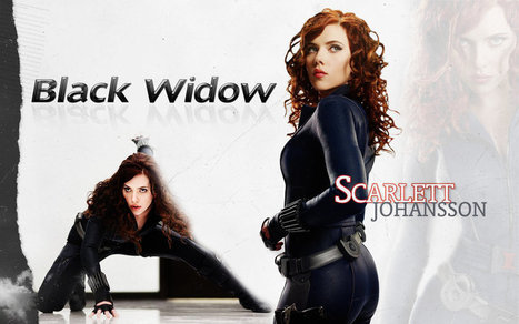 Sexy Black Widow Wallpaper | Avengers Movie Toys | Scoop.it