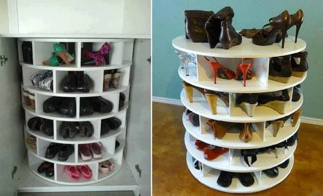 Lazy Susan Shoe Storage Plans | 16s3d: Bestioles, opinions & pétitions | Scoop.it