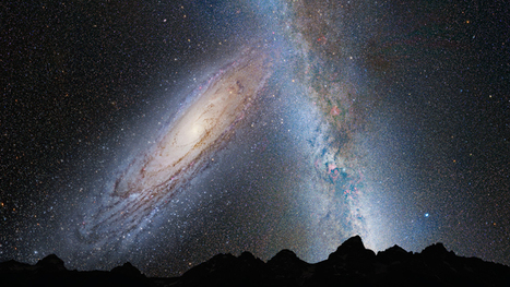 NASA's Hubble Shows Milky Way is Destined for Head-on Collision with Andromeda Galaxy in 4 Billion years | Amazing Science | Scoop.it