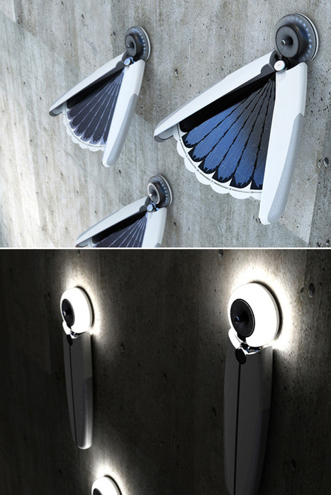 Light Bird – Solar Lamp by Jang Eun Hyuk | L'isola del Bio | Scoop.it