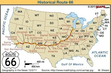 Iconic Route 66 | Geography in the News | Scoop.it