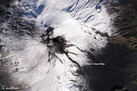 Stunning Photo: Mount Etna's Lava Snakes Through Snow | Remote Sensing News | Scoop.it