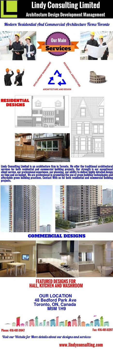 Modern Residential And Commercial Architecture Firms Toronto | Residential Architects Toronto | Scoop.it