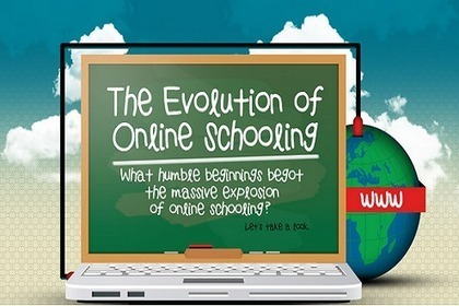 [Infographic] The Evolution of Online Learning - EdTechReview | Personal [e-]Learning Environments | Scoop.it