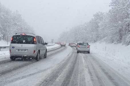 EN DIRECT – La neige paralyse les transports : Calvados et Manche vigilance rouge, trafic Eurostar suspendu | fb27 Infos | Scoop.it