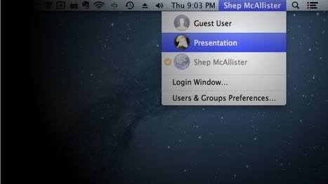 Create a Separate Account on Your PC for Presentations and Sharing - Lifehacker | my furst topic | Scoop.it