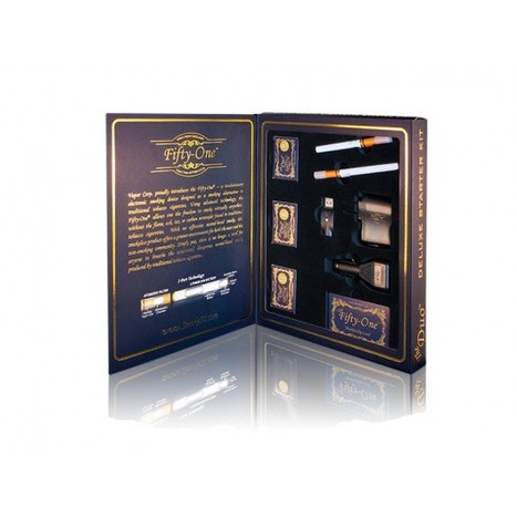 Fifty-One Deluxe Electronic Cigarette Starter Kit - Electronic Cigarette Starter Kits | Fifty-One - Vapor Electronic Cigarette | Scoop.it
