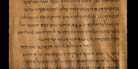 Dead Sea Scrolls Are Now Just A Click Away | TJMS World History | Scoop.it