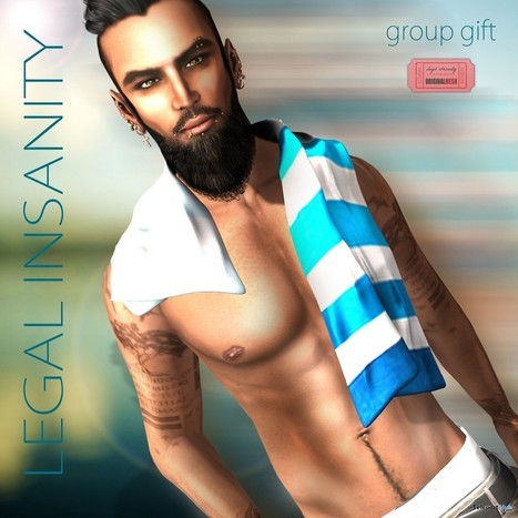 Towel for Him July 2015 Group Gift by Legal Insanity | Teleport Hub - Second Life Freebies | Second Life Freebies | Scoop.it