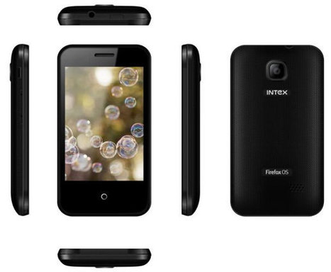 $33 Intex Cloud Fx Firefox OS Smartphone Coming to India | Embedded Systems News | Scoop.it