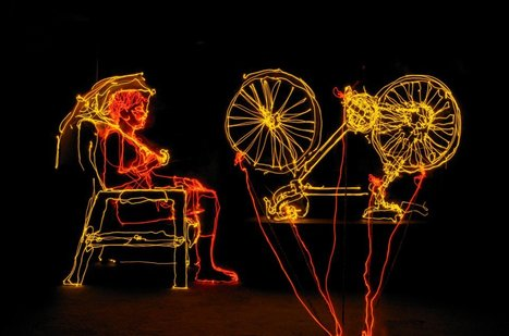 Brian Matthew - aka вrıan нarт | Photographer l Light Painter | les Artistes du Web | Scoop.it