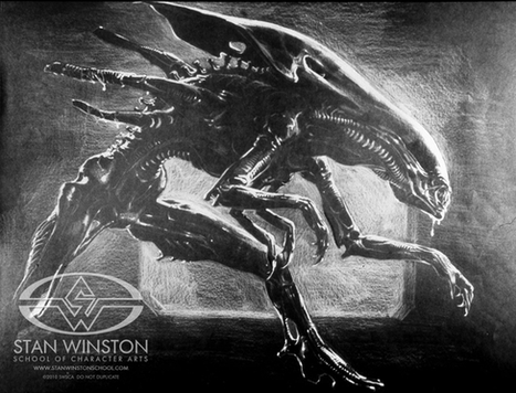 Galería: Así nació la Reina Alien | VIM | Scoop.it