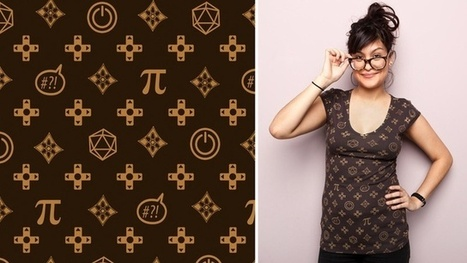 Chic Louis Vuitton For Geeks Tee | D_sign | Scoop.it