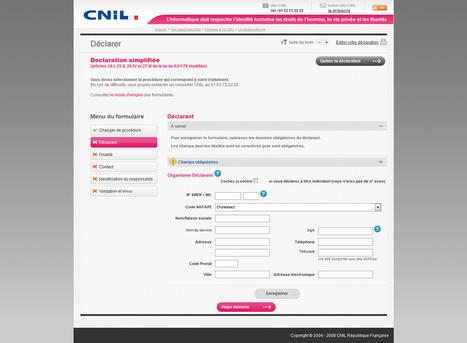 Déclaration obligatoire à la CNIL pour son site internet - Actualités - evolutiveWeb.com | Actus de l'agence, infos et conseils en e-communication et entrepreunariat | Scoop.it