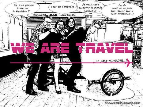 Jamais 2 sans 3 au salon des blogueurs de voyage We Are Travel | Actu Web marketing - Blogging | Scoop.it