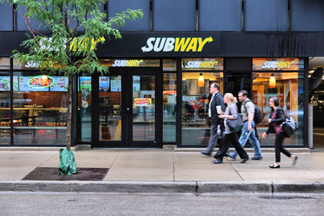 SUBWAY's Wi-Fi Automatically Rewards Customer Loyalty With Free Food | Loyalty360.org | FAVORITES | Scoop.it