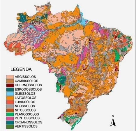 Observatório Histórico Geográfico: Embrapa lança mapeamento digital dos solos brasileiros   Mapeamento Digital de Solos   Scoop.it