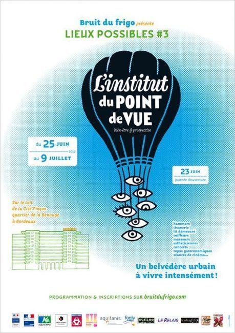 Lieux possibles 3 sur les toits de la Cité Pinçon à la Benauge | arts graphiques | Scoop.it