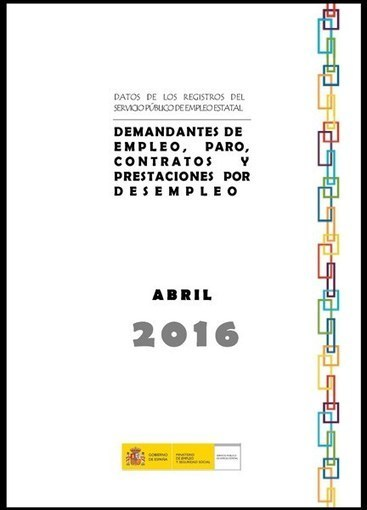 Datos del paro de abril de 2016 | Empleo Palencia | Scoop.it