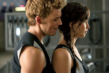Jennifer Lawrence and Sam Claflin talk about working together in 'Catching Fire' - Examiner.com   The Hunger Games   Scoop.it
