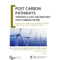Post Carbon Pathways Report April 2013 | Sustainable Futures | Scoop.it