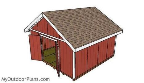 Shed Double Doors Plans | MyOutdoorPlans | Free Woodworking Plans and Projects, DIY Shed, Wooden Playhouse, Pergola, Bbq | Garden Plans | Scoop.it