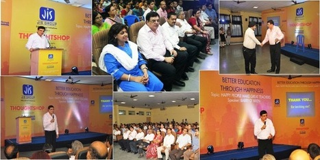 bca Colleges in Kolkata:Thoughtshop: A Workshop on Happy People Make Great Teachers   jisgroup   Scoop.it