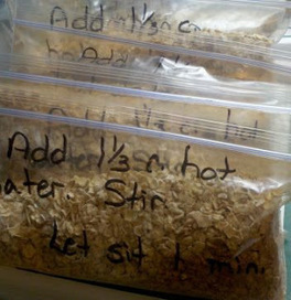 Countrified Hicks: Making your Own Instant Oatmeal Packets | Frugal Living | Scoop.it