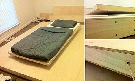 How to build your own levitating bed... and no magic required: The DIY furniture kept up in the air by magnets | Interior Design | Scoop.it
