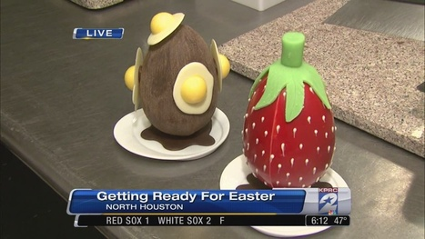 Making delicious, unique Easter treats - KPRC Houston | Just Chocolate!!! | Scoop.it