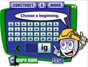 Construct-a-Word - ReadWriteThink | Hot Topics for Kindergarten and 1st Grade | Scoop.it