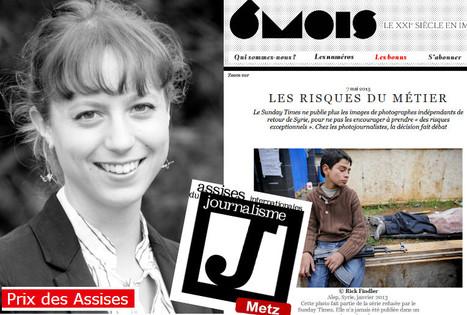 Marion Quillard (85e promo ESJ), Prix Enquête et Reportage des Assises du journalisme | Emploi Métiers Presse Ecriture Design | Scoop.it