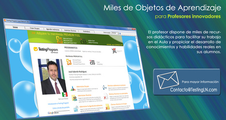 Miles de Objetos de Aprendizaje | Para profesores innovadores | Blog Testing Program | Scoop.it | Educación Matemática | Scoop.it