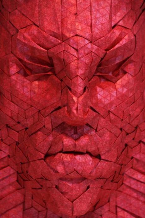 Origami – Les superbes créations de Joel Cooper | pate d'argent et creations | Scoop.it