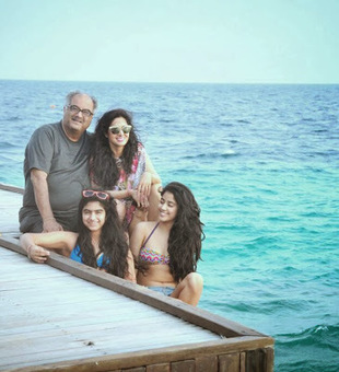 Movie News: Sridevi and her two daughters with two piece bikini hot images | Cinema Latest updates | Scoop.it