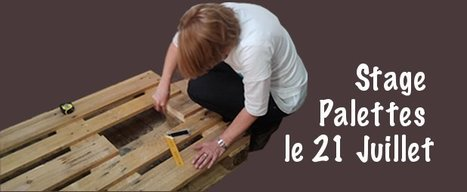 "Nouveau : le ""stage Palettes"" ! 