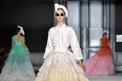 Haute couture trends: The 50s remain chic, and the bridal gown got an update | Fashion Supply Chain Leaders | Scoop.it