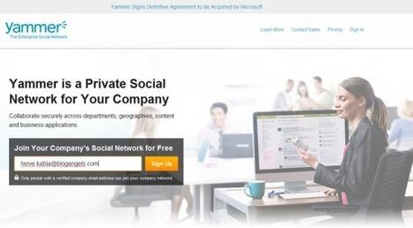 Yammer, le 4×4 des réseaux sociaux d'entreprise · beAngels | RSE | Scoop.it