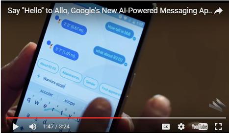 Meet Allo: Google's AI Powered Messenger App | Healthcare Digital Marketing | Scoop.it
