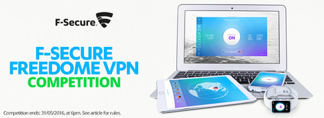 COMPETITION: Win a 1 Year Subscription to F-Secure Freedome! | F-Secure in the News | Scoop.it