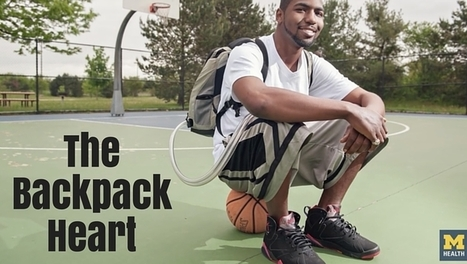 The man who carried part of his artificial heart in his backpack [video] | Organ Donation & Transplant Matters | Scoop.it